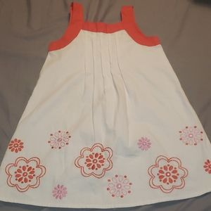 Gymboree dress with flowers size 4t